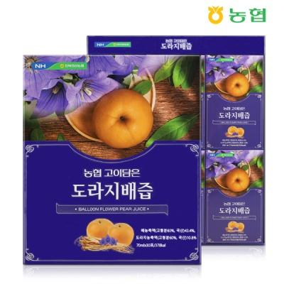 [NH농협] 생기가득 고이담은 도라지배즙 70mlx30포