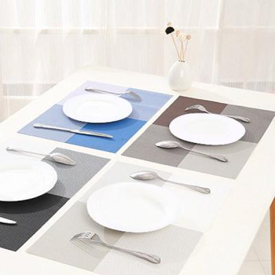 레스토랑 카페 플레이팅 방수 테이블 매트 4종 세트