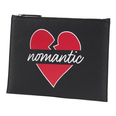 [비욘드클로젯x매니퀸] 노맨틱 로고 사피아노 클러치