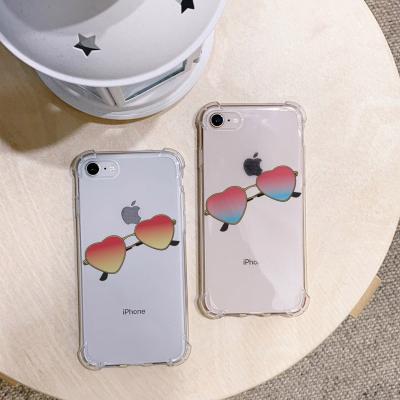 아이폰XS MAX 하트 선글라스 방탄케이스