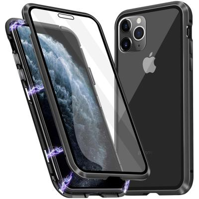 슈퍼쉘 아이폰11 케이스 마그네틱 글라스 범퍼
