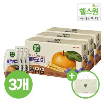 [헬스원] 통짜발효 배도라지 30포 30일분 x3개