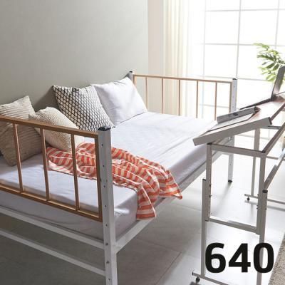 내방에 딱 철제 슈퍼싱글침대 +각도조절 테이블 640