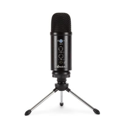 USB 콘덴서 마이크 녹음용 ASMR 방송용 게이밍 MC40U