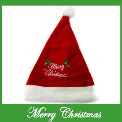 메리 크리스마스 고급 산타모자(성인용) (28cmx44cm)