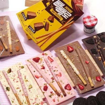바크빼빼 단체형 막대과자 초콜릿 만들기세트