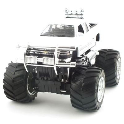 1/24 CHEVROLET SILVERADO 1500 Z71 BIG WHEELS (WE122928WH) 실버라도 픽업 모형자동차