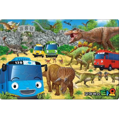 48조각 판퍼즐 - 꼬마버스 타요 공룡섬
