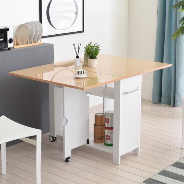 이동형 폴딩 테이블 식탁(하이그로시800) KD455