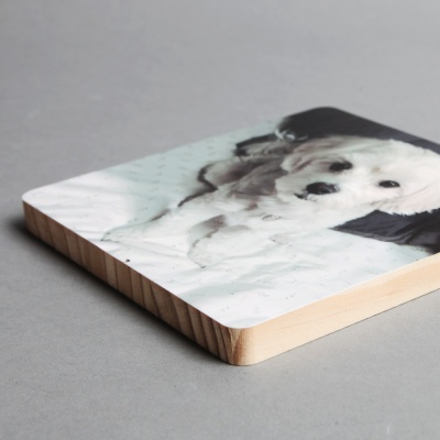 고급 나무 액자 사진인쇄 (대)