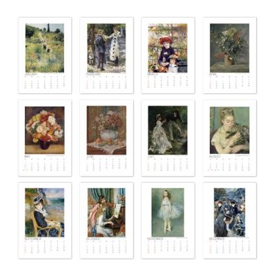 [2021 명화 캘린더] Auguste Renoir 르누아르 Type B