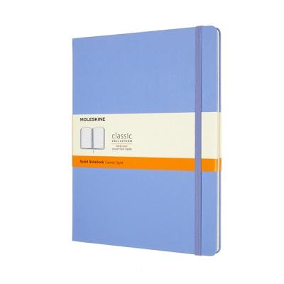 몰스킨 클래식노트-룰드/하이드레인저 블루-하드 XL