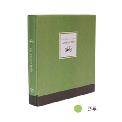 [드림산업] 라비에벨볼트접착앨범50매 연두 [권1] 377222