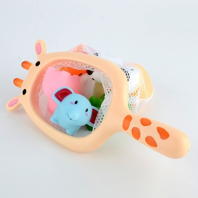 그물 뜰채 유아 낚시 목욕놀이 물놀이 장난감 기린