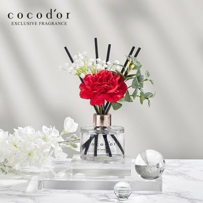 코코도르 카네이션 디퓨저 120ml 안개꽃