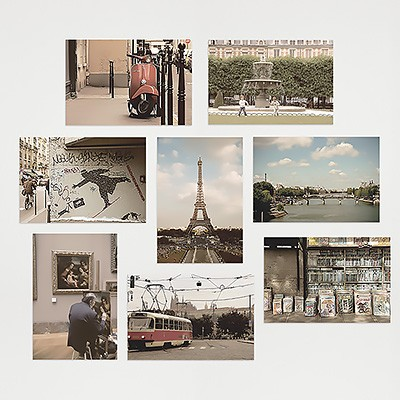 I LOVE PARIS - Post Card