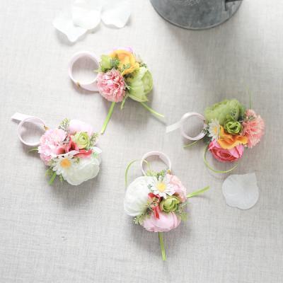 웨딩꽃팔찌 선물세트-새콤달콤라넌(4개set)
