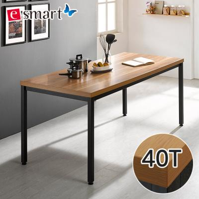 [e스마트] 스틸헤비 테이블 1800x600 (일자다리) 40T