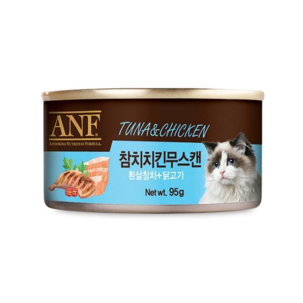 ANF 참치치킨무스캔95G 고양이캔