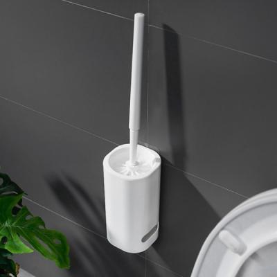 화이트 스탠드 변기 세척솔/변기청소솔/변기솔