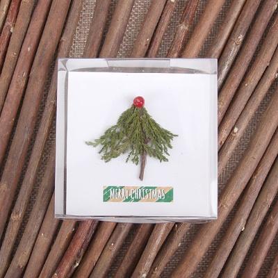 트리 크리스마스 카드