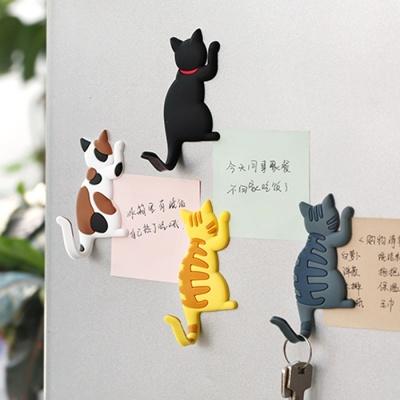 고양이 냉장고 자석 마그넷 7종 마그네틱 다용도 걸이