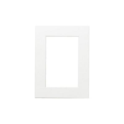 포토프레임 매트지 A4 (홀 5x7) - 사진 액자 여백 종이