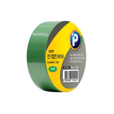 [프린텍] E1910G_전기절연 테이프/녹색/19mmx10m