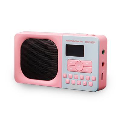 아이리버 포켓 라디오 뮤직 플레이어 IRS-B303 핑크