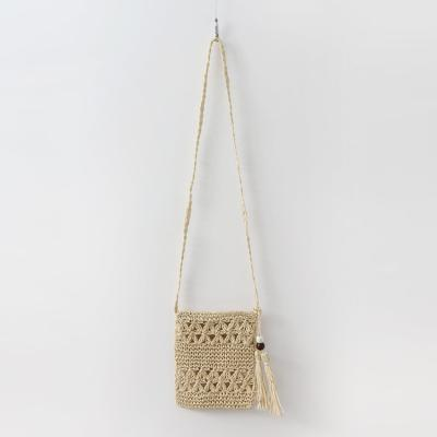 Rattan Square Cross Bag