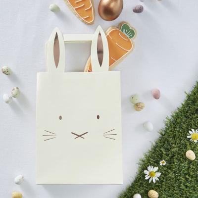 연노랑 토끼 쇼핑백 구디백 Easter bunny Bags
