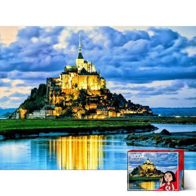 1000피스 직소퍼즐 프랑스 몽쉘미쉘성 PG1017