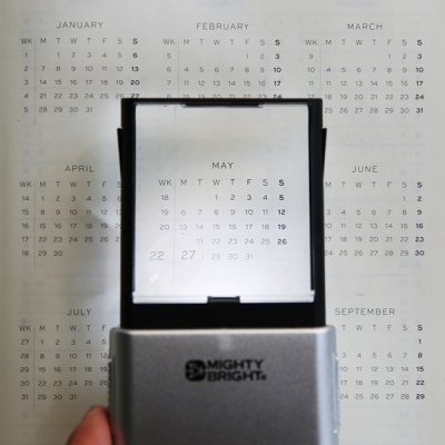 [Mighty Bright] LED Magnifier 팝업 돋보기