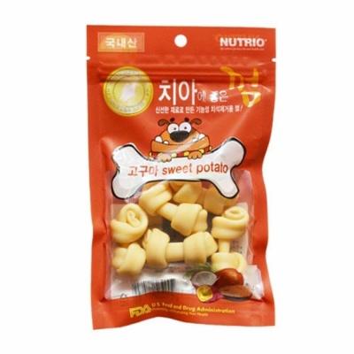Nutrio (국산) 치아에 좋은껌 -고구마 (in)