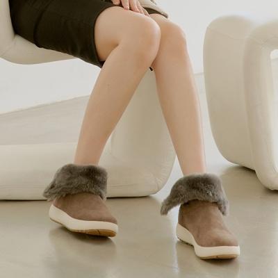 여성용 겨울 어그 털부츠
