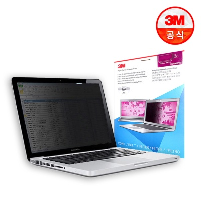 3M 노트북용 고선명 정보보안필름 HC PF14.0W9 COMPLY
