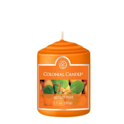COLONIAL CANDLE 2176 보티브 캔들 1.7oz 살구민트