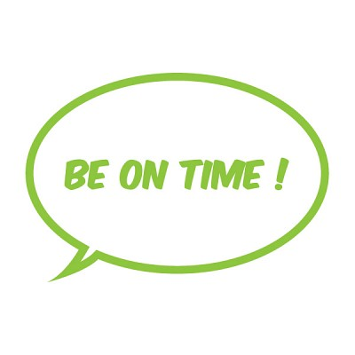 Be On Time[unminuto]