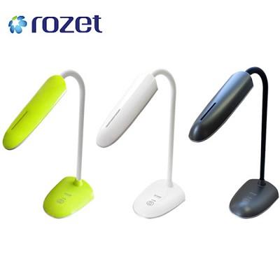 로제트 LED USB 스탠드 RX-9900 (터치형 스위치 / 3단계 밝기 조절 / 각도 조절 / 180도 회전 / LED램프)