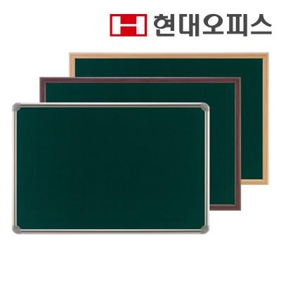 [현대오피스] 청자석[분필]/물백묵 보드 500mm x 700mm 알루미늄 프레임