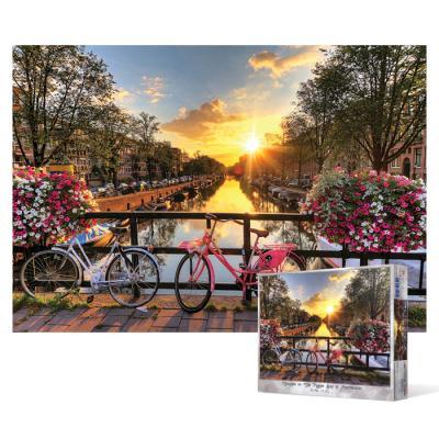 1000피스 직소퍼즐 - 암스테르담의 아름다운 일출