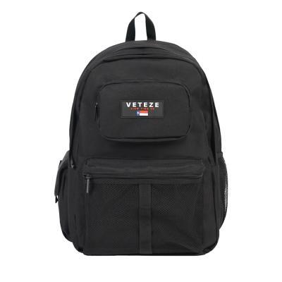 [베테제](BLACK) 레트로 스포츠 메쉬 망사 백팩 가방