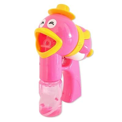 펭귄 자동버블건 핑크 분홍색 / 비눗방울 버블건