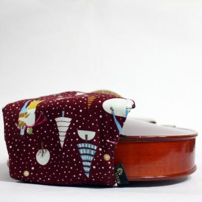 바이올린 센터형 턱받침 핸드메이드 커버 No34