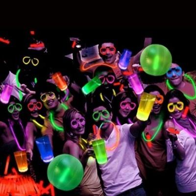 인싸템 LED 야광팔찌 스틱 파티 MC062 야광봉 100개