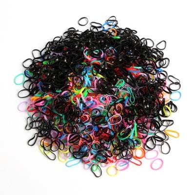 고무줄 머리끈 1500p세트(컬러)