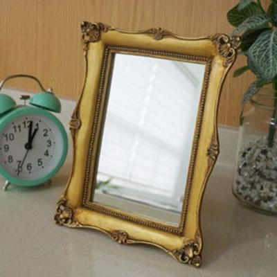 로렌 골드 사각 거울