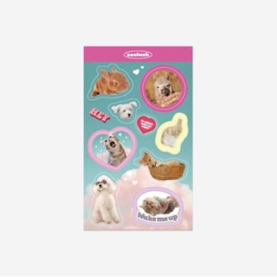 쏘슬러시 콜라주스티커-cute animals