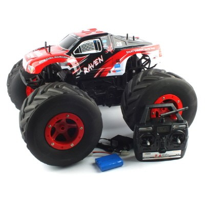 1/6 BIG WHEEL TRUCK 2.4GHz R/C (RAVEN) (BGT279825REA) Red A 빅휠 트럭 R/C