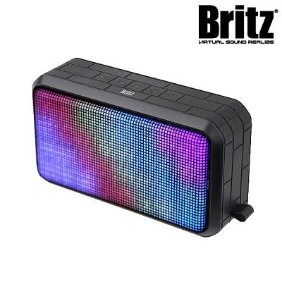 브리츠 LED 휴대용 블루투스4.0 스피커 BA-BL2 Sound Painting (통화 + 음악 / MicroSD카드 재생 / 외부입력 AUX 단자 / 충전)